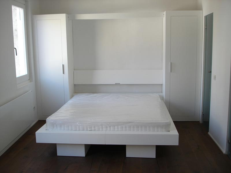 Camas abatibles online exposici n cama abatible - Sistema cama abatible ...